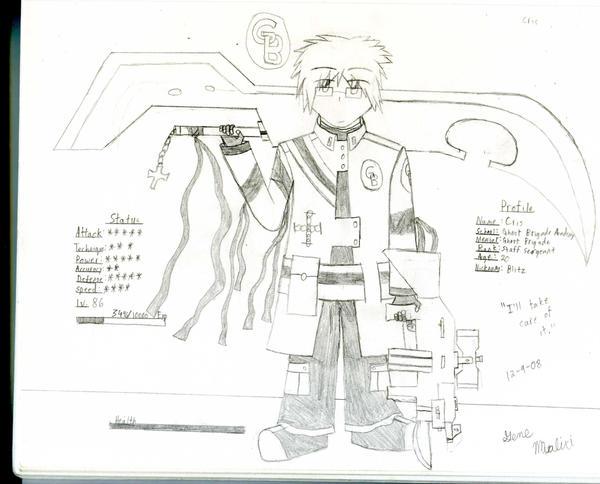 GB Profile: Cris by KitsuneHavoc