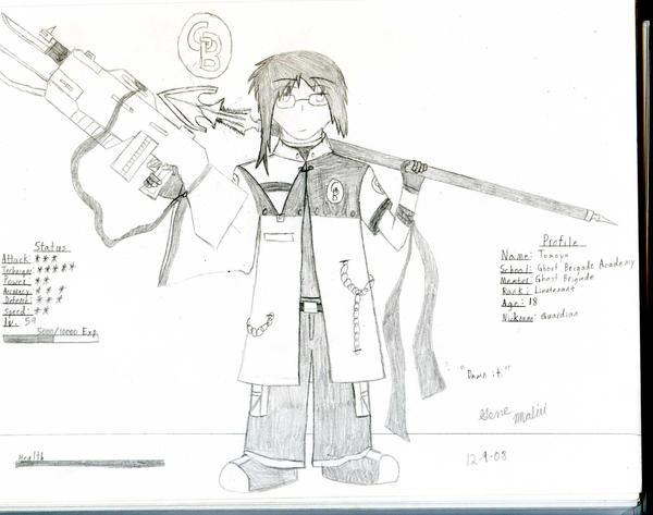 GB Profile: Tomoya by KitsuneHavoc
