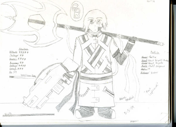 GB Profile: Gallia by KitsuneHavoc