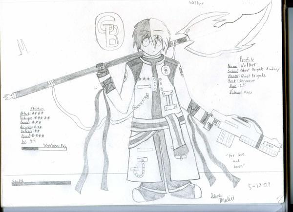 GB Profile: Walker by KitsuneHavoc
