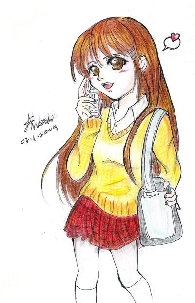 Yukina - Ana-chan95 by KitsuneHavoc
