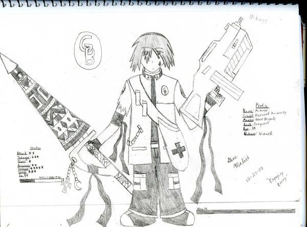 GB Profile: Mikage by KitsuneHavoc