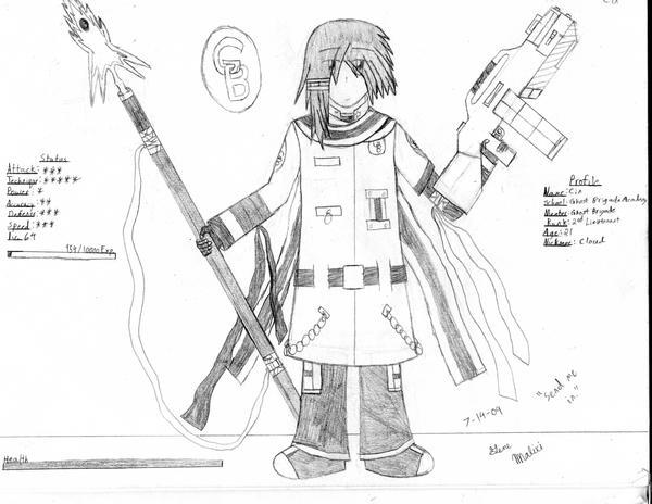 GB Profile: Cin by KitsuneHavoc