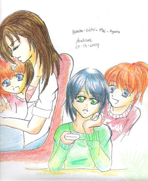 Sai's Sisters - Ana-chan95 by KitsuneHavoc