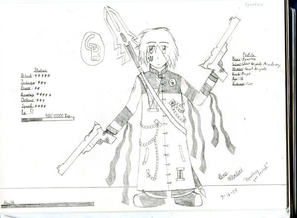 GB Profile: Syaoran by KitsuneHavoc