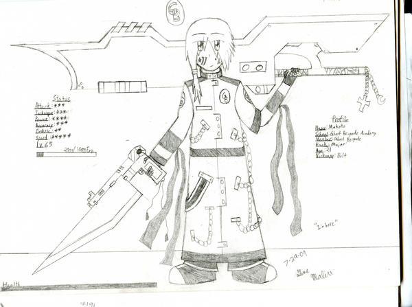 GB Profile: Makoto by KitsuneHavoc