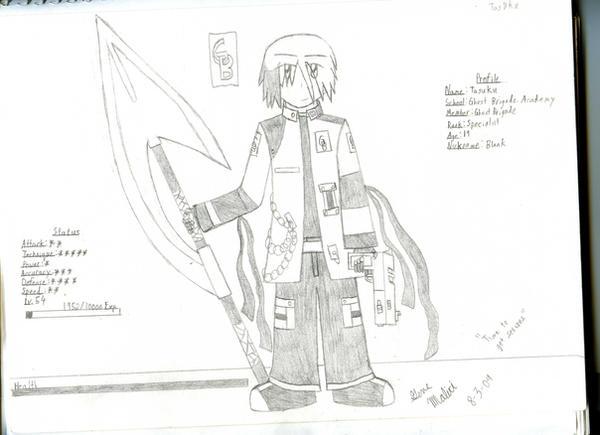GB Profile: Tasuku by KitsuneHavoc