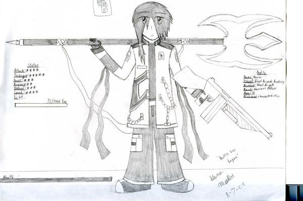 GB Profile: Narui by KitsuneHavoc