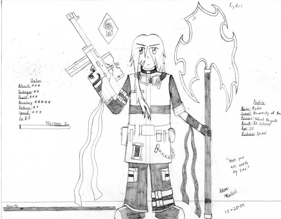 GB Profile: Ryder by KitsuneHavoc