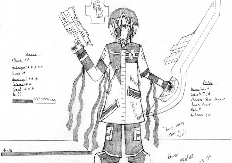 GB Profile: Dart by KitsuneHavoc