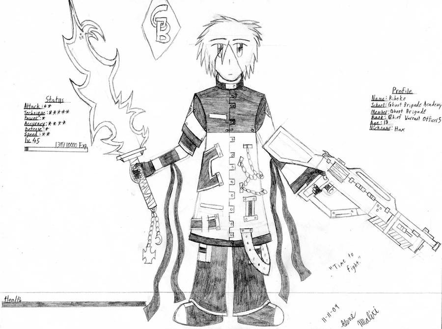 GB Profile: Rihoko by KitsuneHavoc