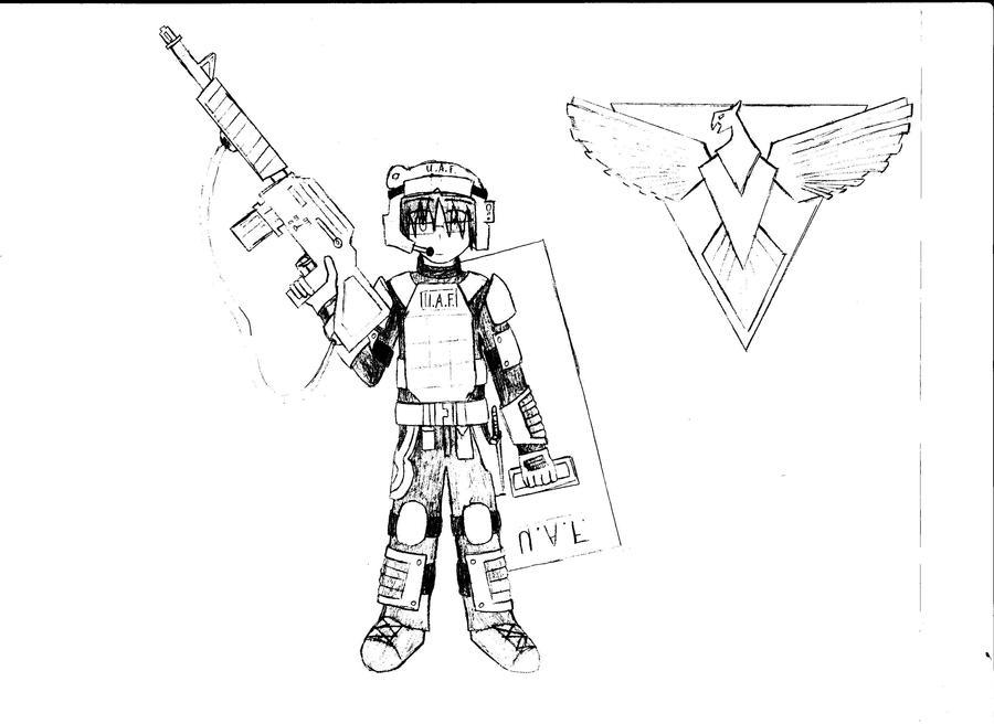 Peacekeeper - Allies by KitsuneHavoc