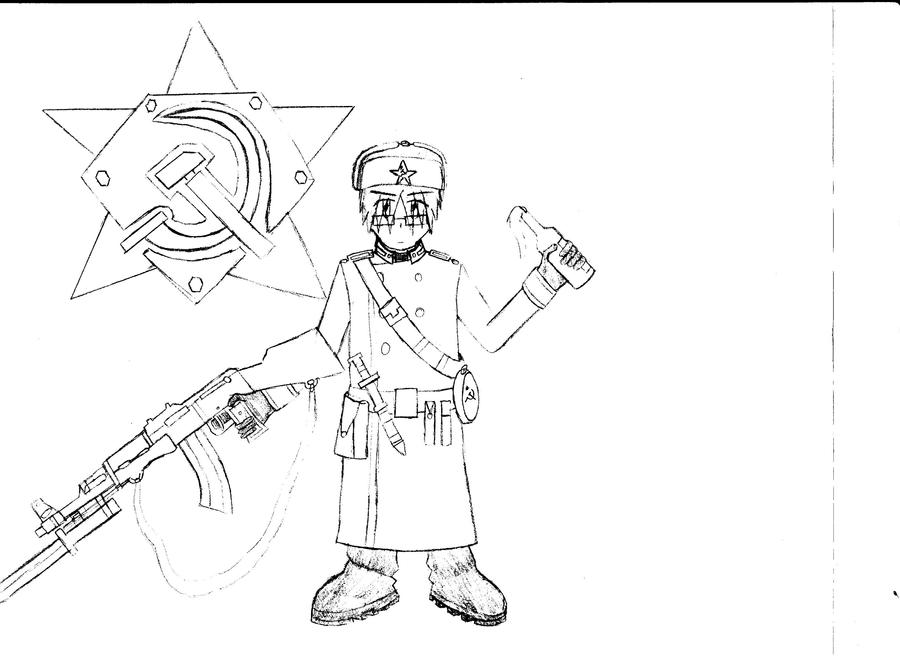 Conscript - Soviets by KitsuneHavoc
