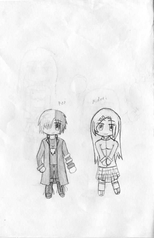 Ren and Midori - Ringo by KitsuneHavoc