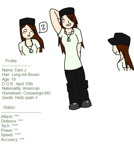 GB Profile: Dani J by KitsuneHavoc