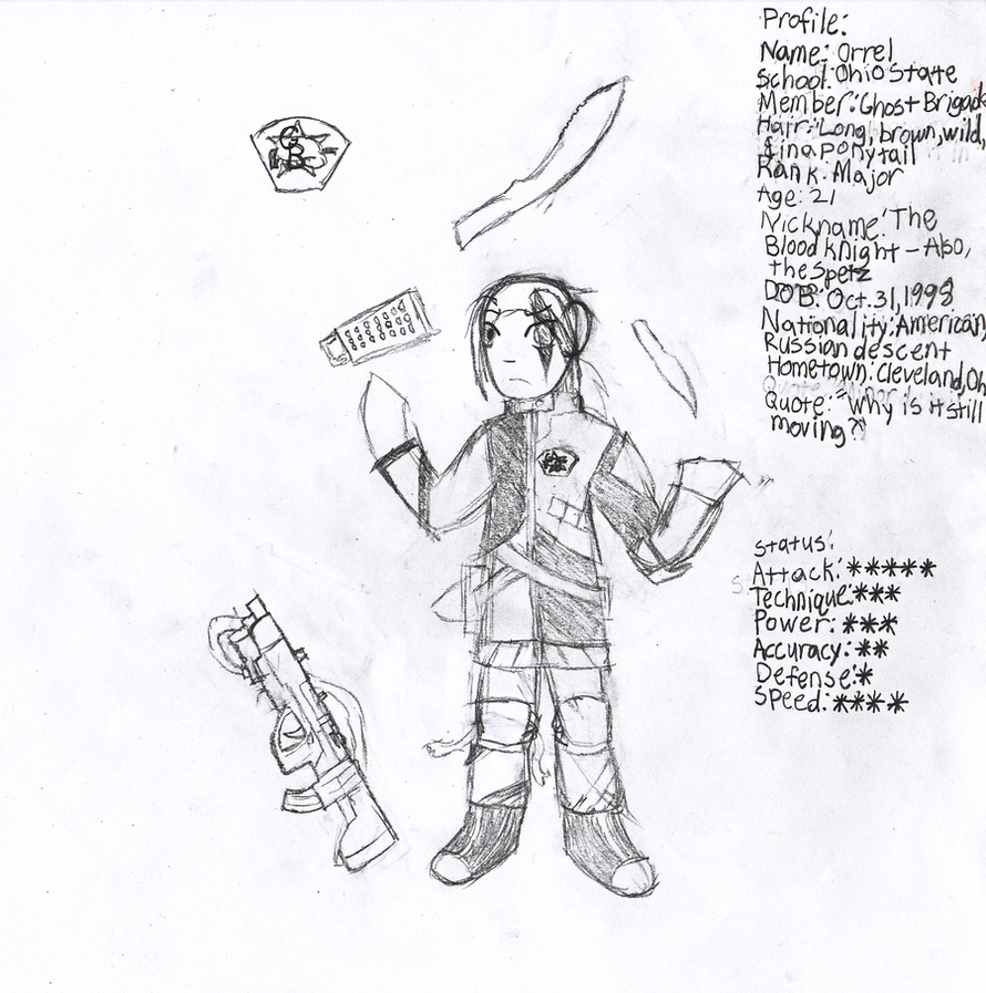 GB Profile: Orrel by KitsuneHavoc