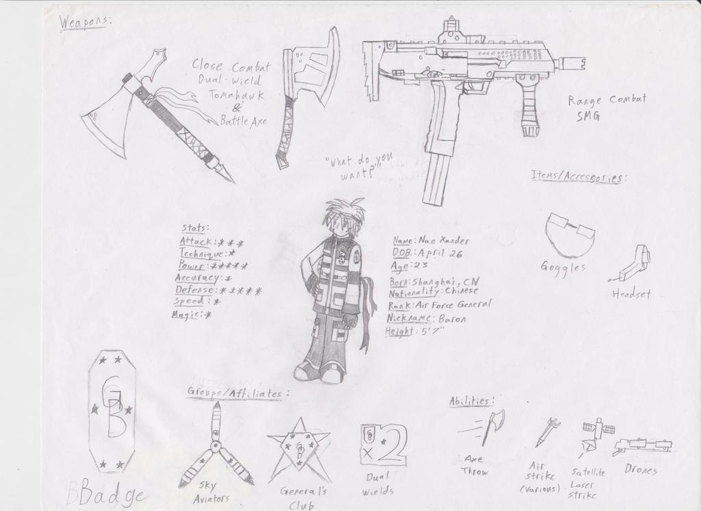 GB Profile: Nao Xander by KitsuneHavoc