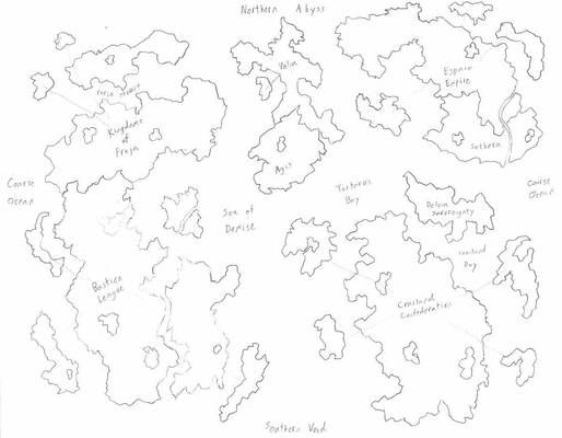World of Iria (CONQUERED BY REDFORCE345)
