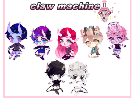 . : Claw Machine 08 : .
