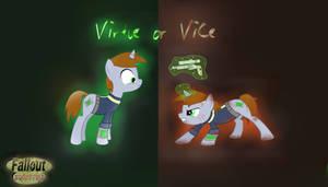 Virtue or Vice Fallout Equestria