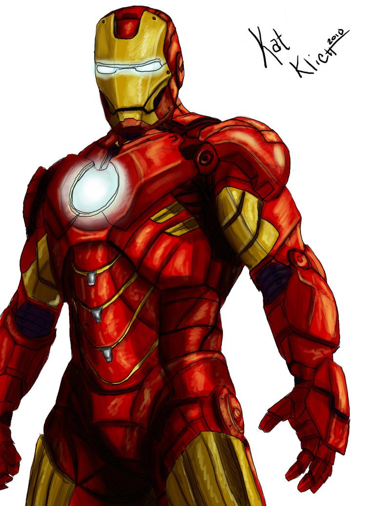Iron Man coloring +WIP+ by azaelwyn on DeviantArt