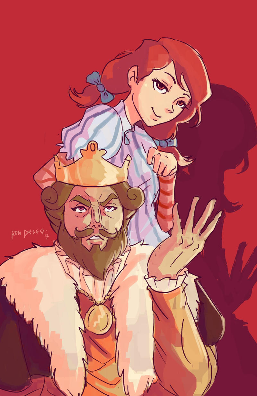 Sassy Wendys And Burger King By Tukilit