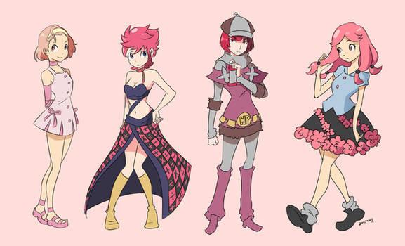 JJBA - Pink