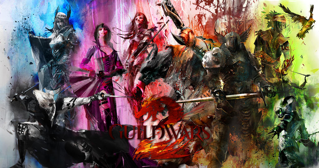 Guild Wars 2 Wallpaper By Thecodeofhonour