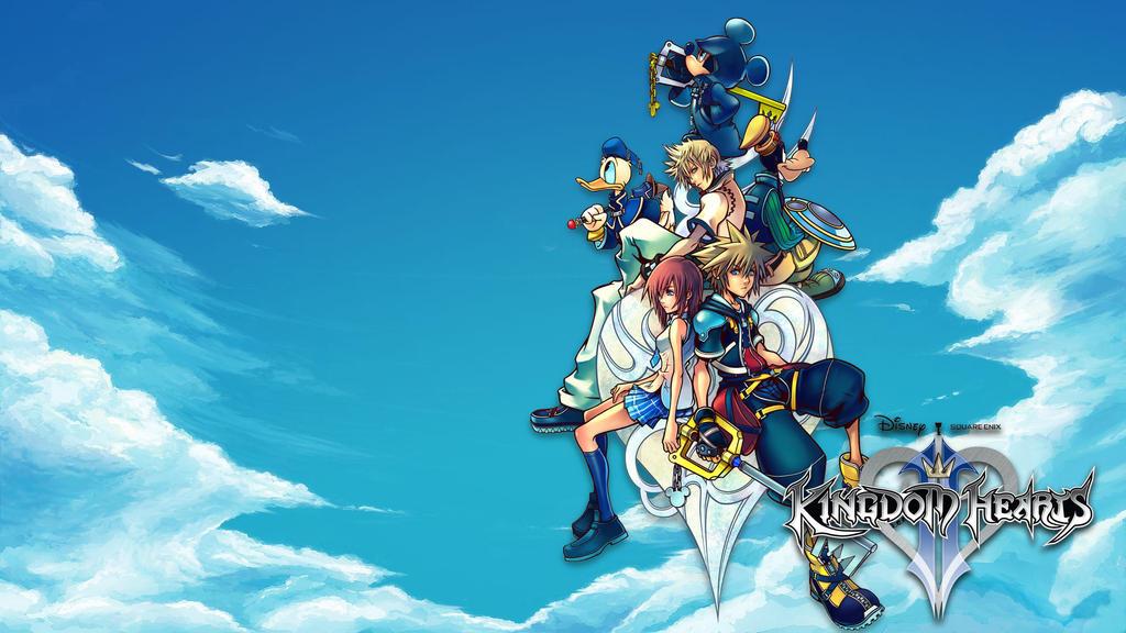Kingdom Hearts 2 Wallpaper