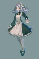 Skullgirl--Marrie by oxxo777