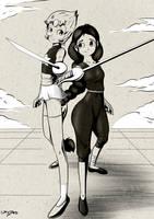Inktober Day 6: Sword by PixelboyMagazine