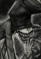 Inktober Day 8: Crooked by PixelboyMagazine