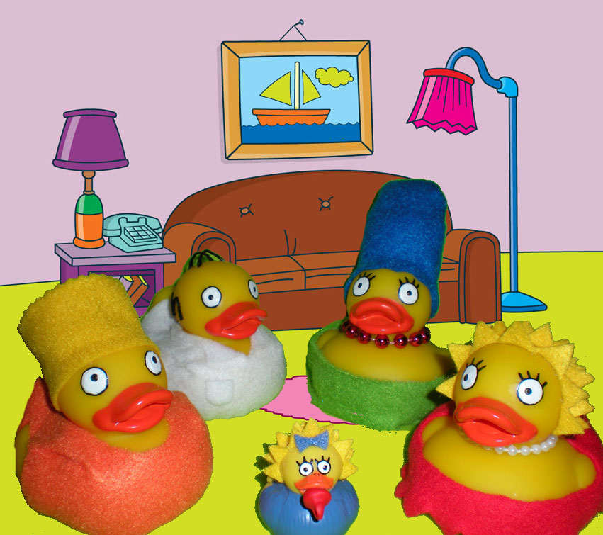 The simpsons living room by oriana x myst on deviantart for Simpsons living room picture