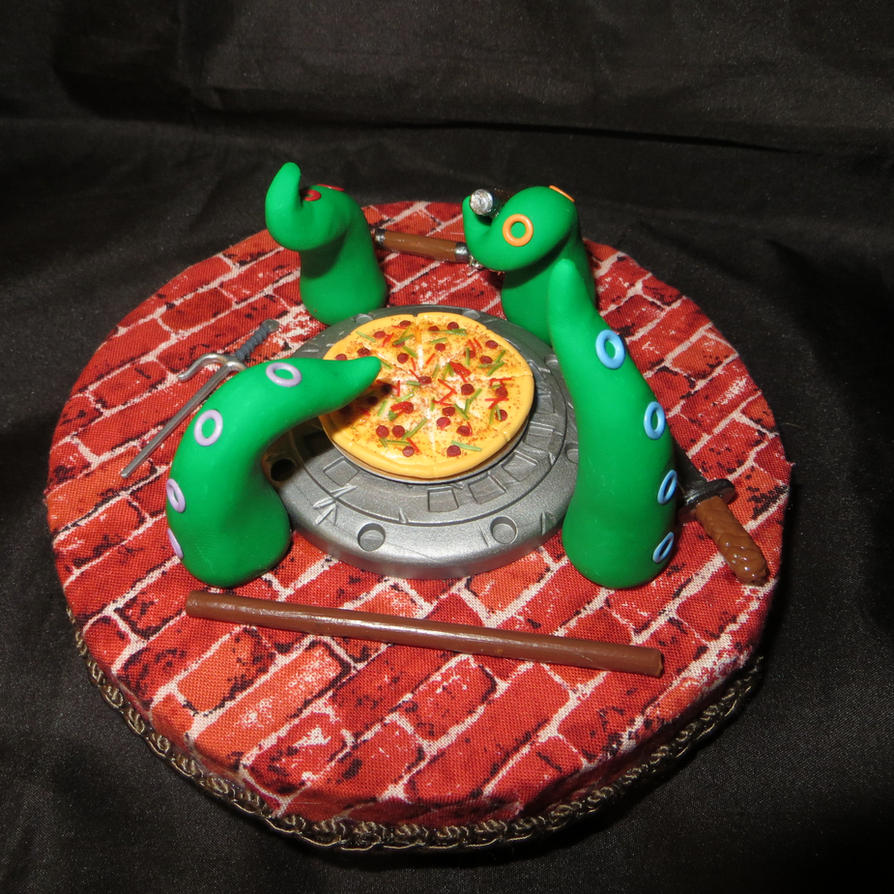 Teenage Mutant Ninja Turtles Themed Tentacle Hat by Oriana-X-Myst