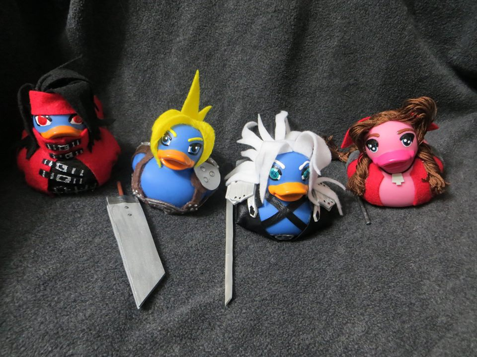 Final Fantasy 7 Ducks Update by Oriana-X-Myst