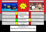 Squidward's S.F.G.U. Vs. Play It Again, Brian by JayZeeTee16