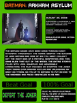 1001 Video Games - Batman Arkham Asylum by JayZeeTee16