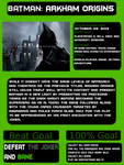 1001 Video Games - Batman Arkham Origins by JayZeeTee16
