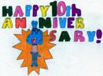 TAWOG 10th Anniversary by JayZeeTee16