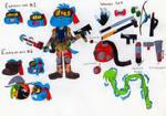 Guerilla Gumball Watterson (Remake) by JayZeeTee16