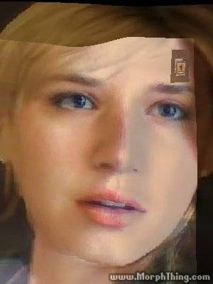Me and Sherry Birkin - Morph 2 by TeamSNIC