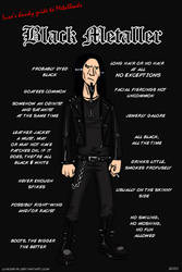 Metal 101- The Black Metaller by LusoSkav