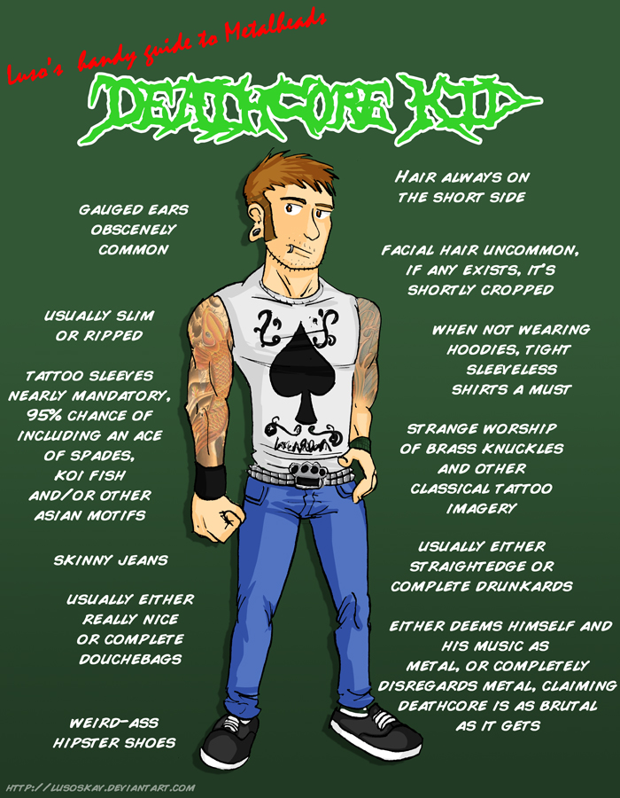 Metal 101- The Deathcore kid