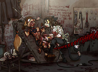 Commission- The Saw and the Carnage Done by LusoSkav