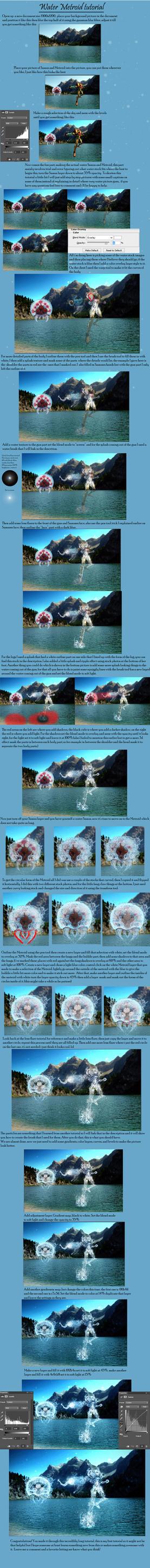 Water Samus Tutorial by TylerReitan