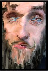Abstract Self Portraitf by TylerReitan