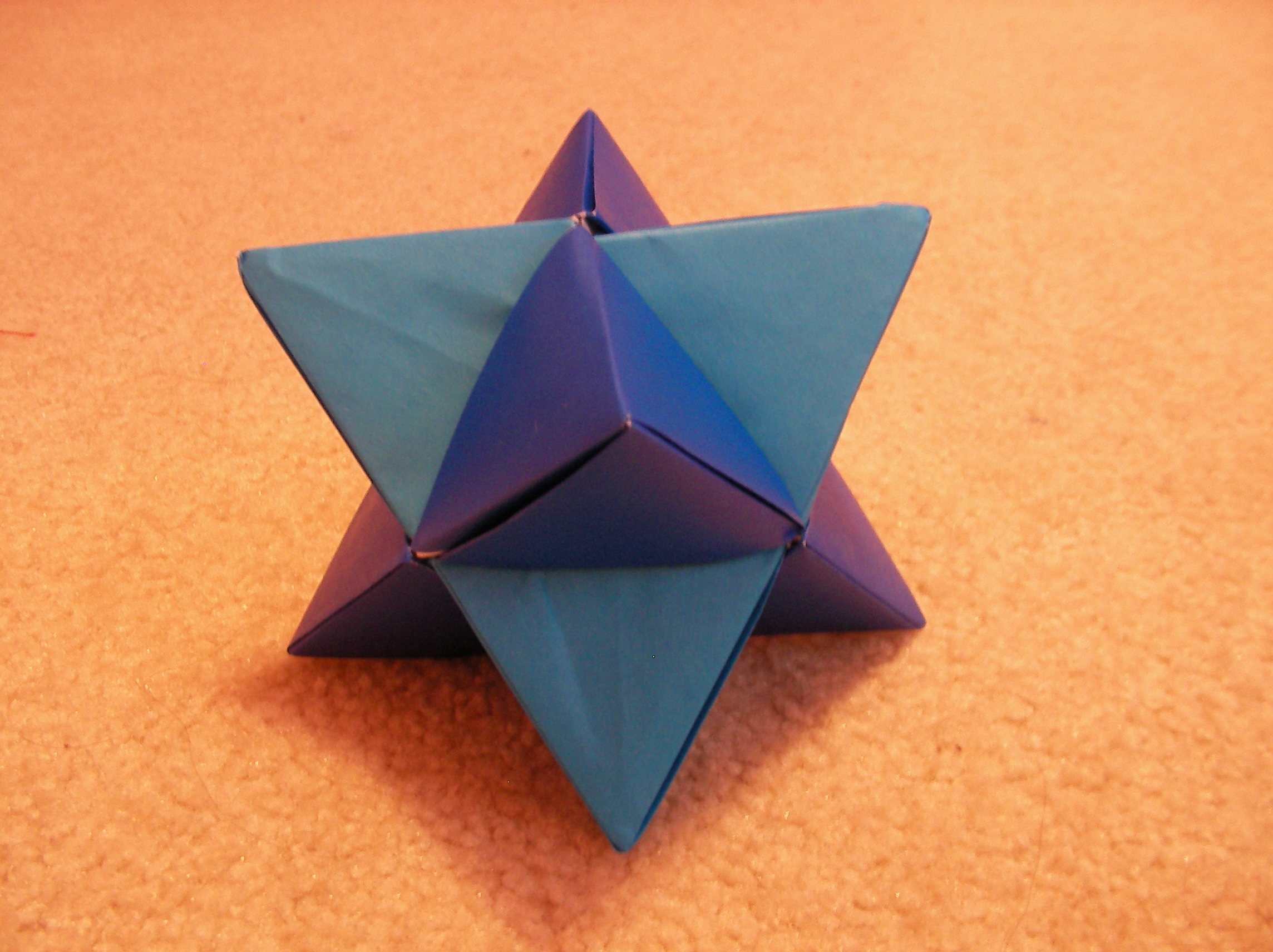 origami double tetrahedron 1 by annelicyambl on deviantart