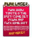 font: Punk lager
