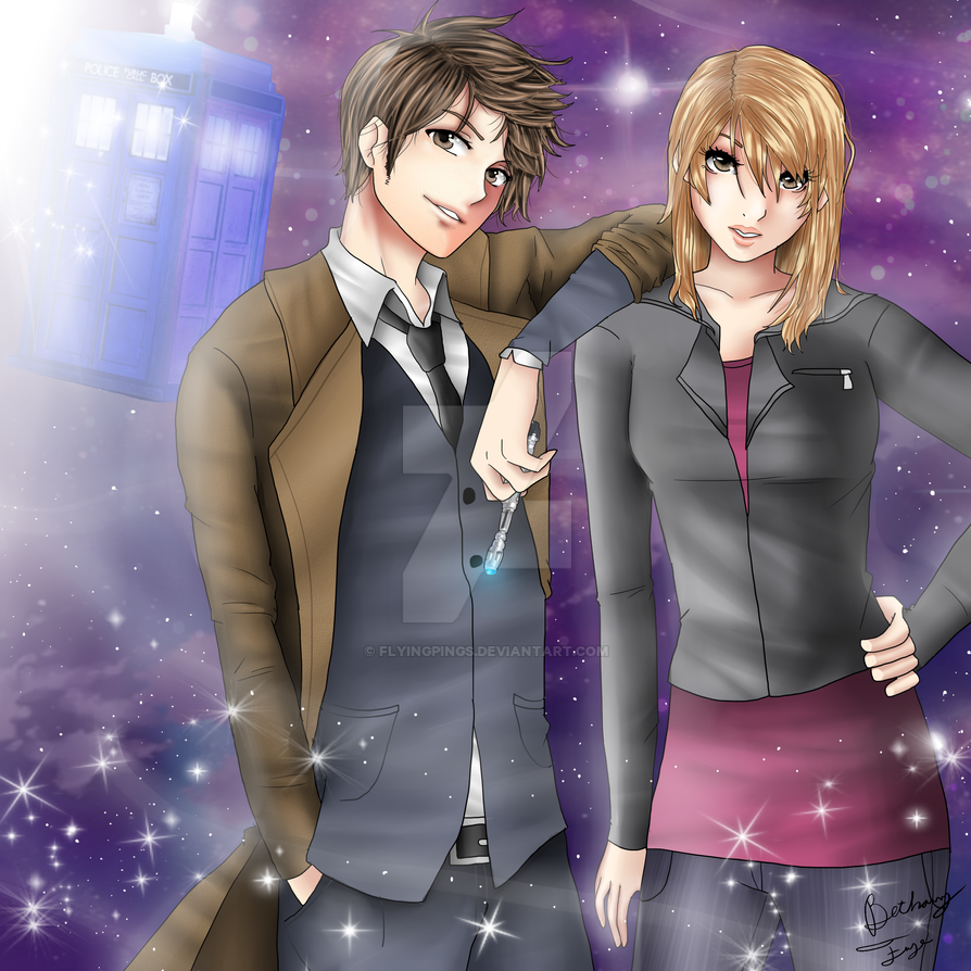 The Doctor and Rose (Commission) by BethanyFrye
