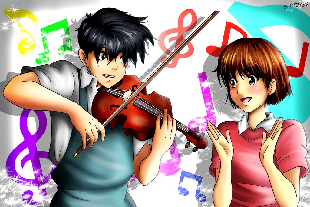 Seiji and Shizuku by BethanyFrye